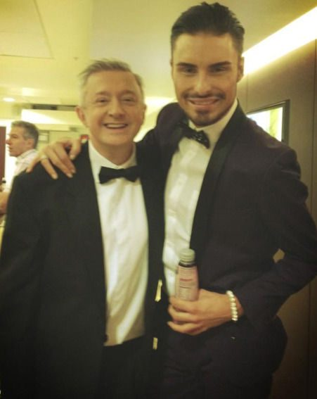 Rylan Clark and Louis Walsh had to stomach an I'm A Celebrity style Yule tucker trail on Text Santa