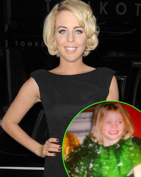 Lydia Bright's mother Debbie shared a snap of the former TOWIE star as a child