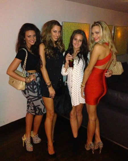 Michelle Keegan looked stunning as she flaunted her tiny frame on a Christmas night out