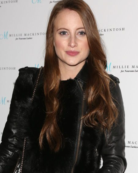 Rosie Fortescue was speaking in the middle of filming for the Made In Chelsea Christmas special