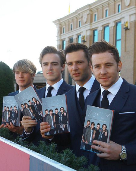 McFly have just released their autobiography