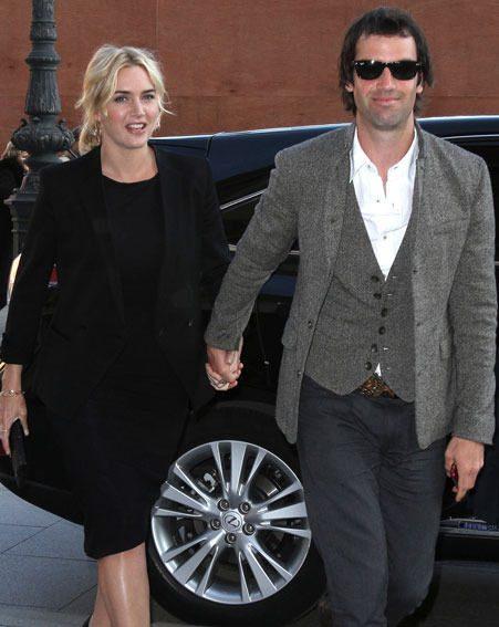 Kate Winslet has married her short-term boyfriend Ned Rocknroll