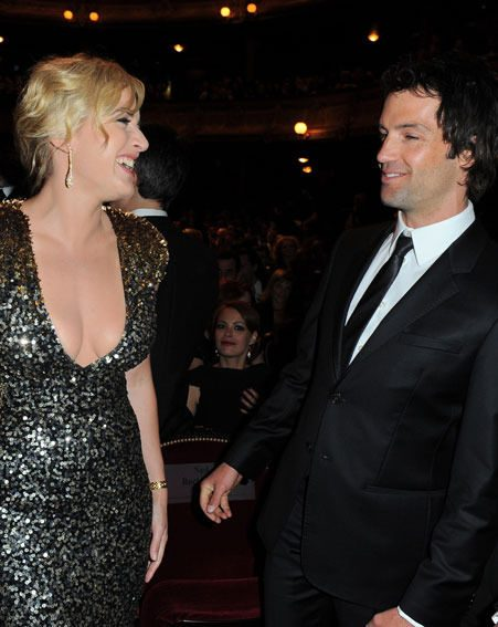 Kate Winslet and Ned Rocknroll have been dating for just over a year