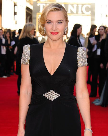 Kate Winslet married for the third time earlier this month