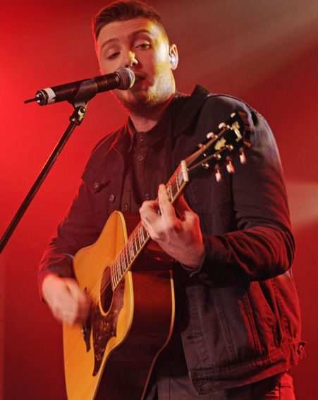 James Arthur was denied the Christmas number one slot by the Justice Collective