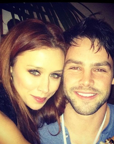 Una Healy shared a snap of her ringing in the New Year with hubby Ben Foden