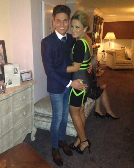 Joey Essex and Sam Faiers celebrated her 22nd birthday at her house in Essex