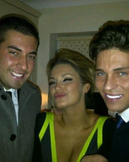 James Argent hit Sam Faiers' house for the birthday bash and we can't stop staring at Joey's teeth
