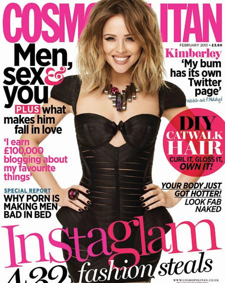 Cheryl Cole's BFF graced the cover of Cosmopolitan magazine
