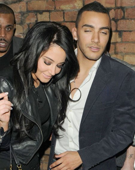 Tulisa sparked marriage rumours on Twitter after referring to boyfriend Danny Simpson as 'hubby'