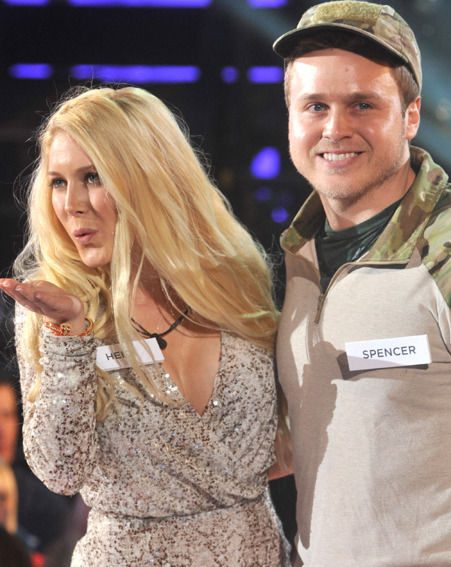 Heidi Montag and Spencer Pratt moved out of the basement in the Celebrity Big Brother 2013 house
