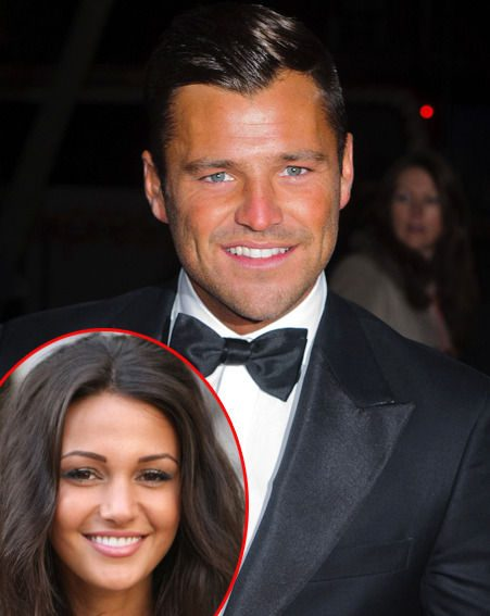 Mark Wright was reportedly spotted kissing Corrie star Michelle Keegan at a New Year's party