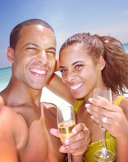 Rochelle Humes enjoyed a belated honeymoon with Marvin Humes in the Maldives before flying to LA