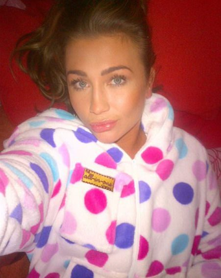 Lauren Goodger has been training hard this week with dance partner Michael Zenezini