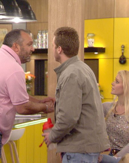 Neil 'Razor' Ruddock wades into the argument between Spencer Pratt and Rylan Clark