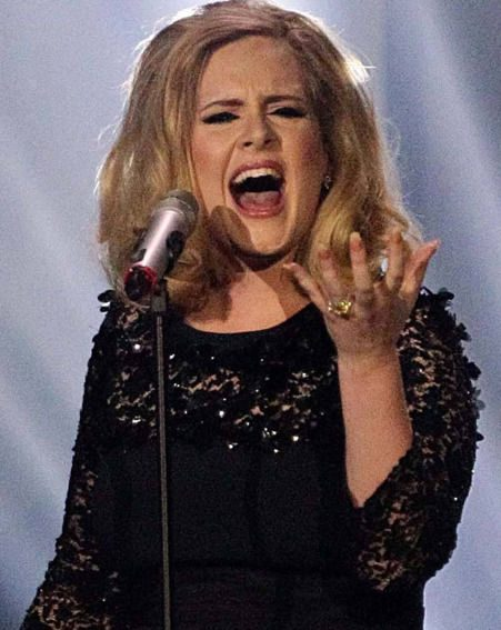 Adele has allegedly been struck with a crisis of confidence recently