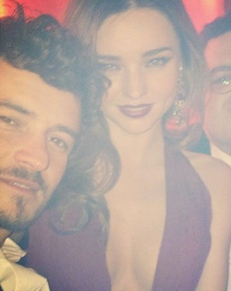 Miranda Kerr joined hubby Orlando Bloom at the prestigious awards ceremony in LA