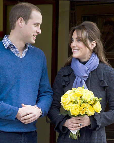 Kate Middleton and Prince William are expecting their baby in July