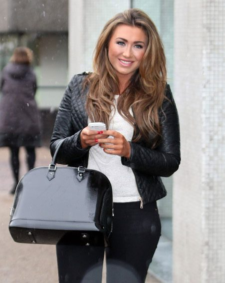 Lauren Goodger admitted she's happier than ever since leaving TOWIE