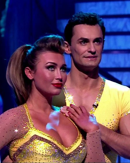 Lauren Goodger was voted off Dancing On Ice 2013 on Sunday night