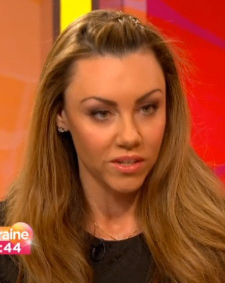 Michelle Heaton looked gorgeous when she appeared on Lorraine this morning