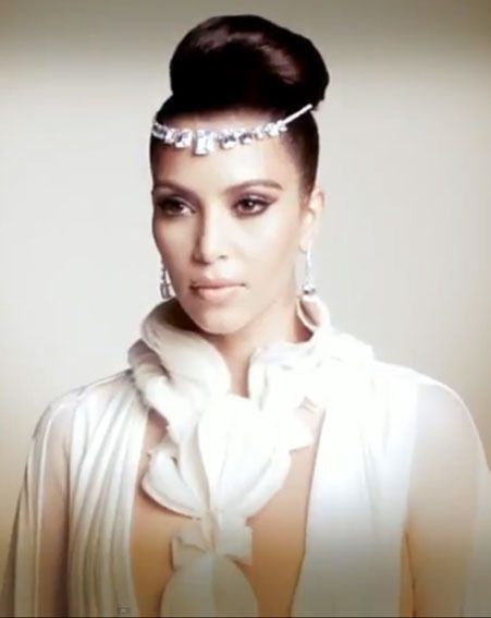 Kim Kardashian rocked the Arabian chic look for her Hia magazine photo shoot