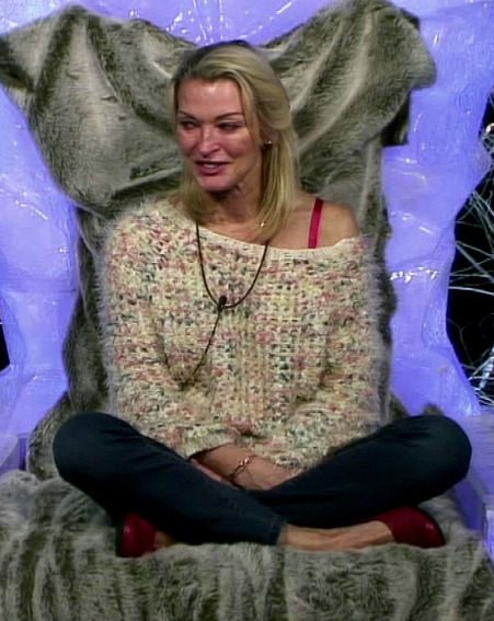 Gillian Taylforth said she was 'tight' with other housemates Claire Richards and Tricia Penrose