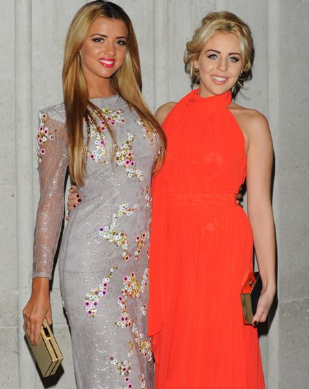 Lydia Bright celebrated her 22nd birthday with family and friends in London