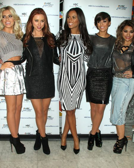 The Saturdays also hit New York to promote their brand-new reality show