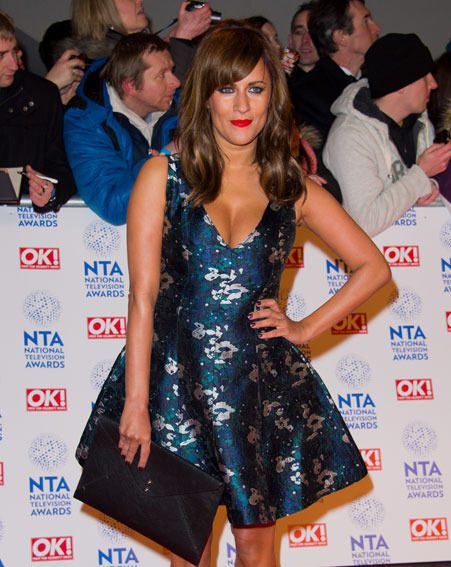 Caroline Flack debuted her new look at last night's National Television Awards 2013