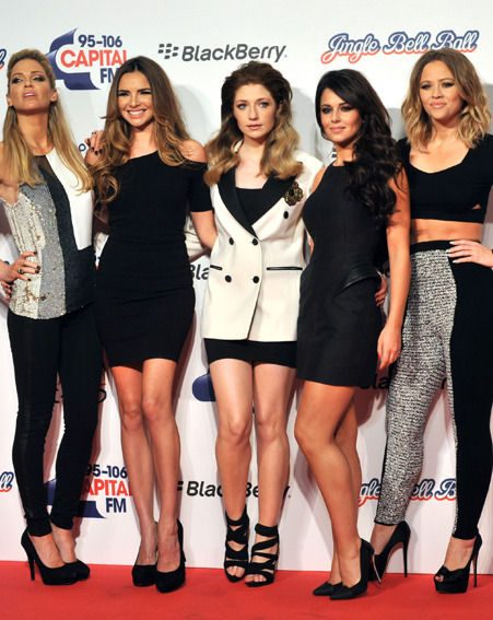 Kimberley Walsh said Girls Aloud will make a decision after seeing how they feel at the tour's end