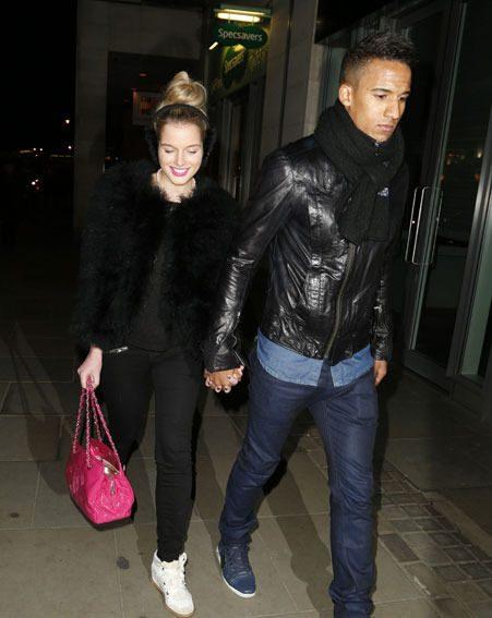 Helen Flanagan has been dating footballer Scott Sinclair for three years