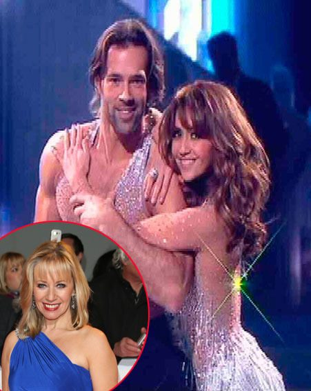 Dancing On Ice's Karen Barber spoke about the Samia Ghadie and Sylvain Longchambon romance