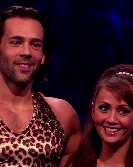 Samia Ghadie and Sylvain Longchambon have apparently fallen in love on Dancing On Ice 2013