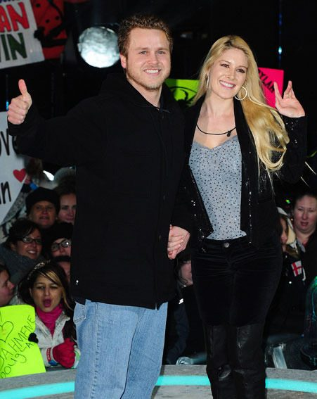Spencer Pratt and Heidi Montag have declared their love for David and Victoria Beckham