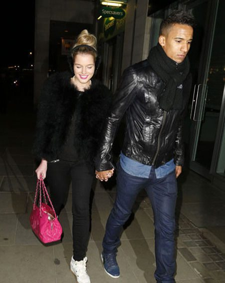 Helen Flanagan has been dating footballer Scott Sinclair for three years