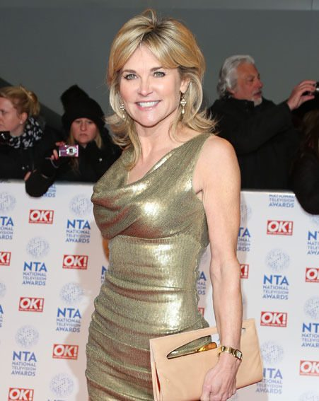 Anthea Turner spoke exclusively to new! about Dancing On Ice and her skater body