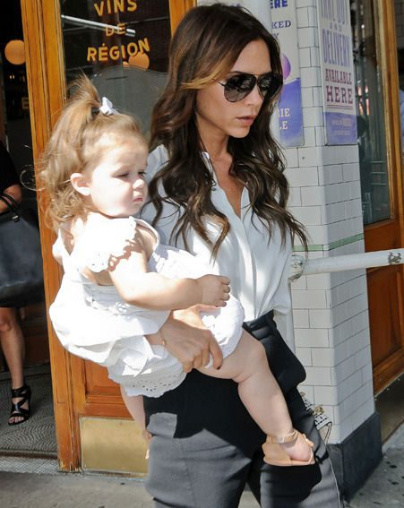Victoria Beckham will stay in the UK with her children