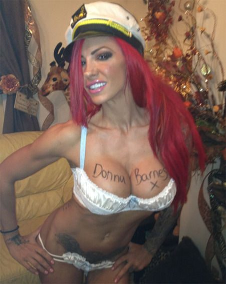 Jodie Marsh celebrated reaching 250,000 Twitter fans by hosting a boob writing competition