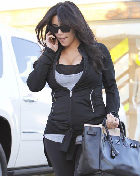 Kim Kardashian says she's heading back to the gym