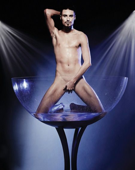 Rylan Clark stripped off for his latest shoot