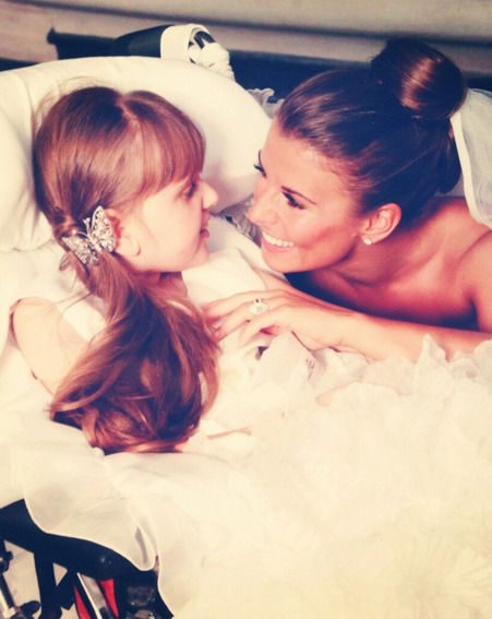Coleen Rooney shared this intimate snap of her with her late sister Rosie on Twitter