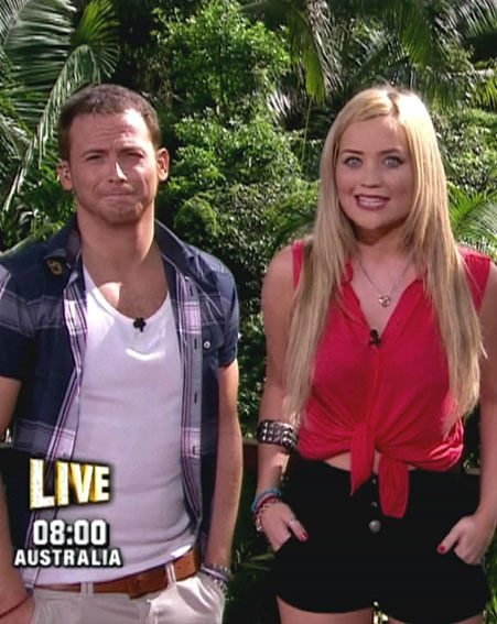 Joe Swash now has a crush on I'm A Celebrity…Get Me Out Of Here! Now! co-host Laura Whitmore