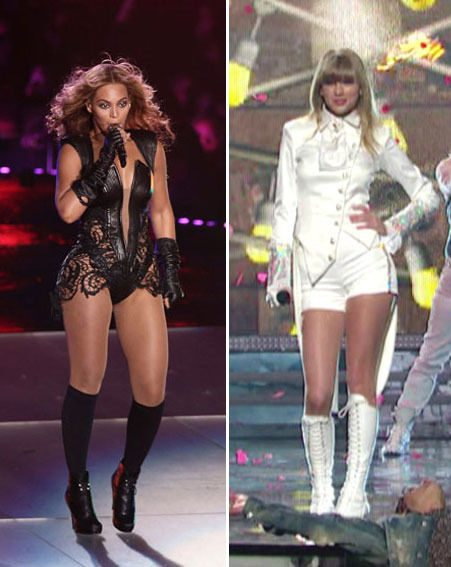 Beyonce and Taylor Swift will be performing at the BRIT Awards 2013 tonight