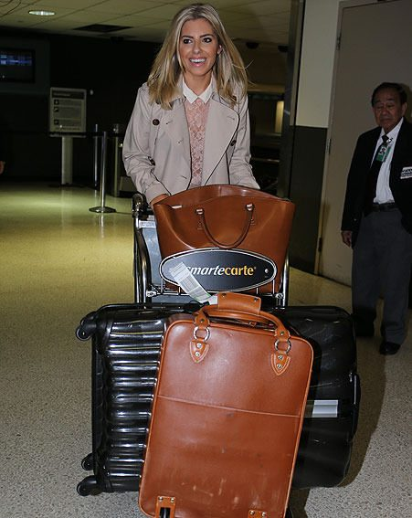 Mollie King chose a plain outfit after her style attack at London Fashion Week