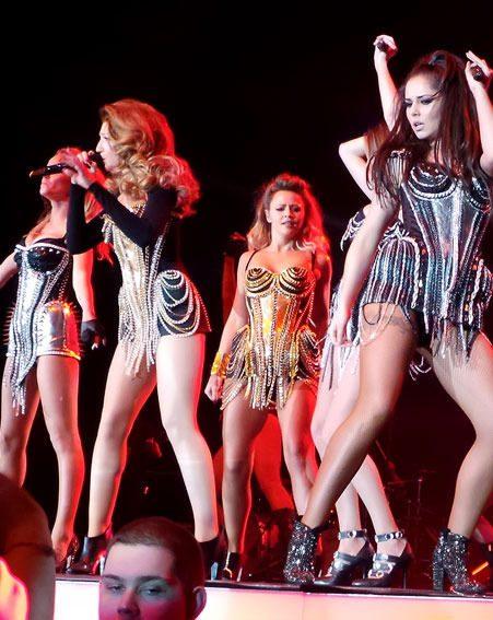 Girls Aloud opened their Ten tour in Newcastle last night