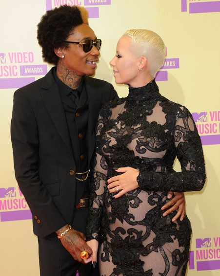 Amber Rose and Wiz Khalifa have been engaged since March last year