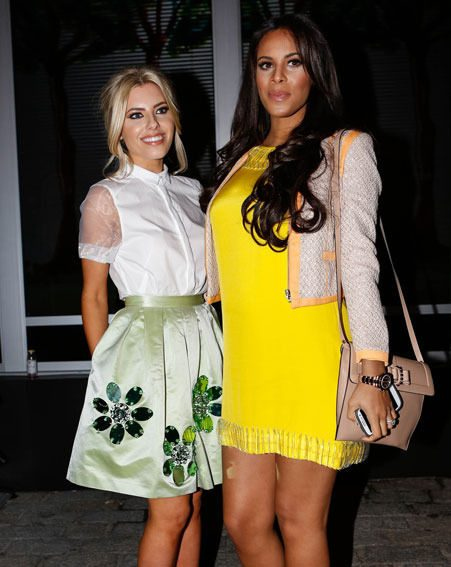 Rochelle Humes joined The Saturdays at London Fashion Week last week