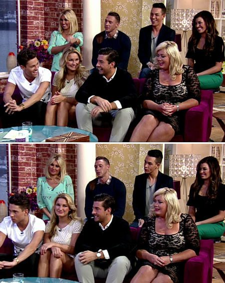 The TOWIE cast appeared on The Morning yesterday