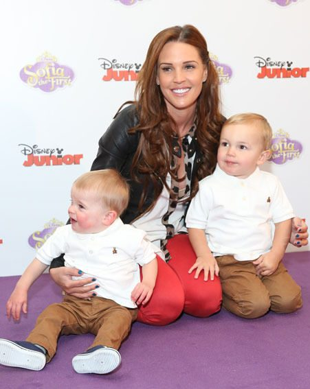 Danielle Lloyd announced today that she's pregnant for the third time